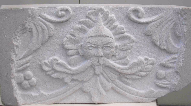 stone carving relief Portland limestone