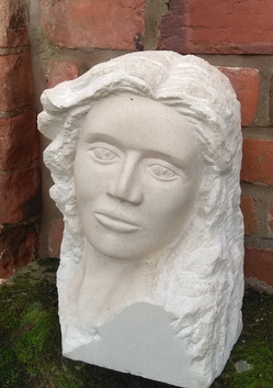limestone portrait head