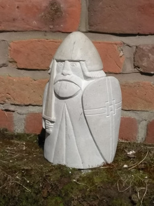 stone carved Lewis Chessmen