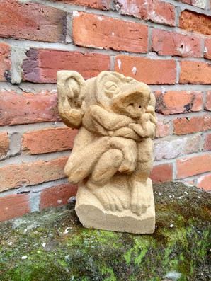 gargoyle grotesque stone carving
