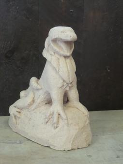 Clay gargoyle