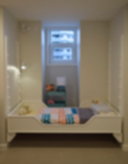 child's bed, laura kraft architect, adjustable height bed Laura Kraft Architect Seattle residential architecture, Seattle woman architect, Seattle Residential Remodel