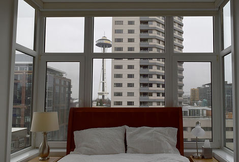 Laura Kraft Architect Seattle residential architecture, Seattle woman architect, Seattle Residential Remodel,laura kraft architect, condo, space needle view, seattle condo design
