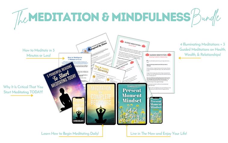 Meditation & mindfulness Bundle