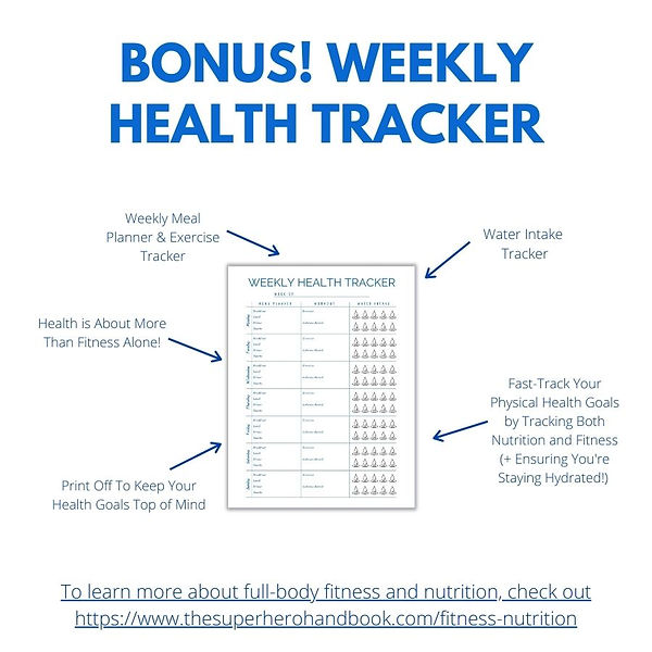 Bonus_ Weekly Health Tracker