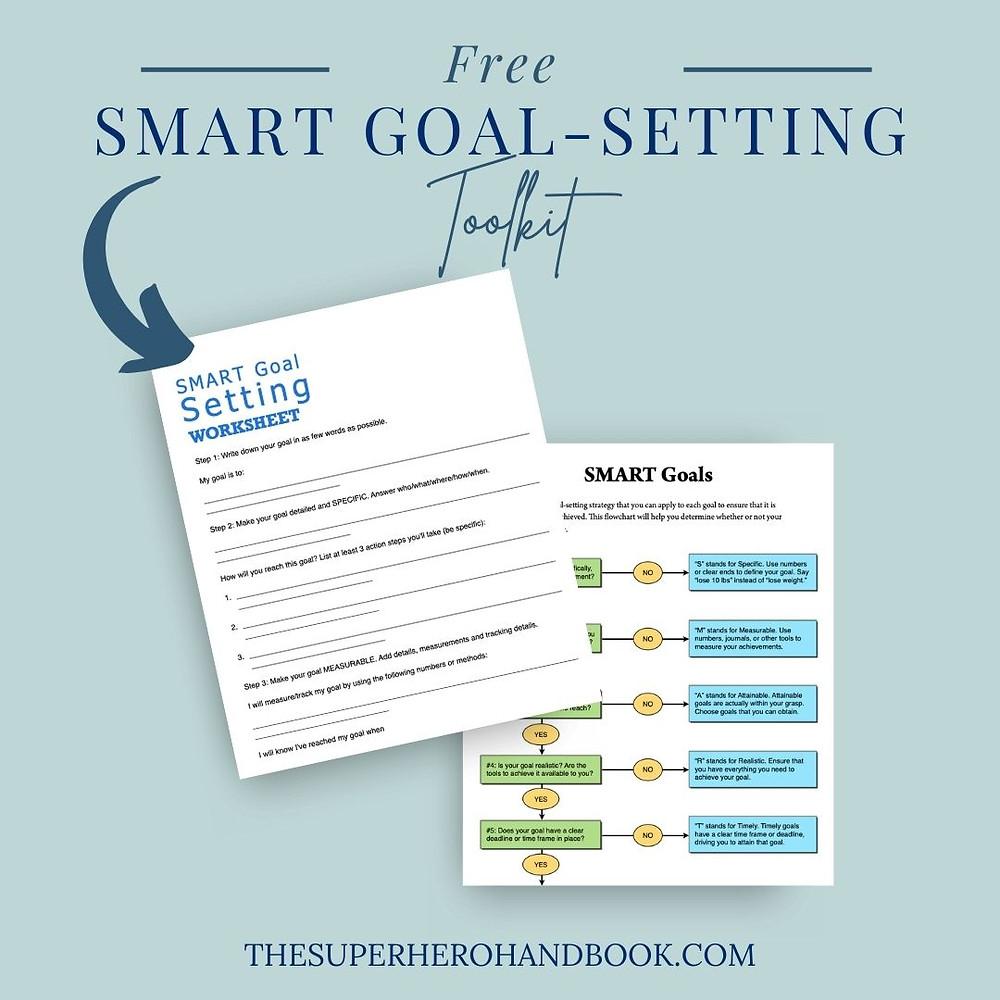 Free SMART Goal Setting Toolkit