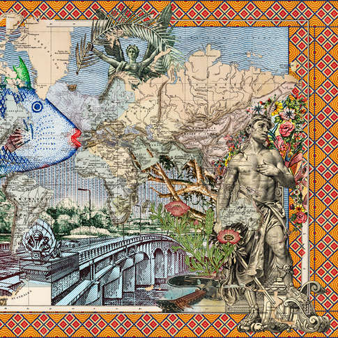 Malala Andrialavidrazana, Figures 1886, Voyages Autour du Monde, 2018
