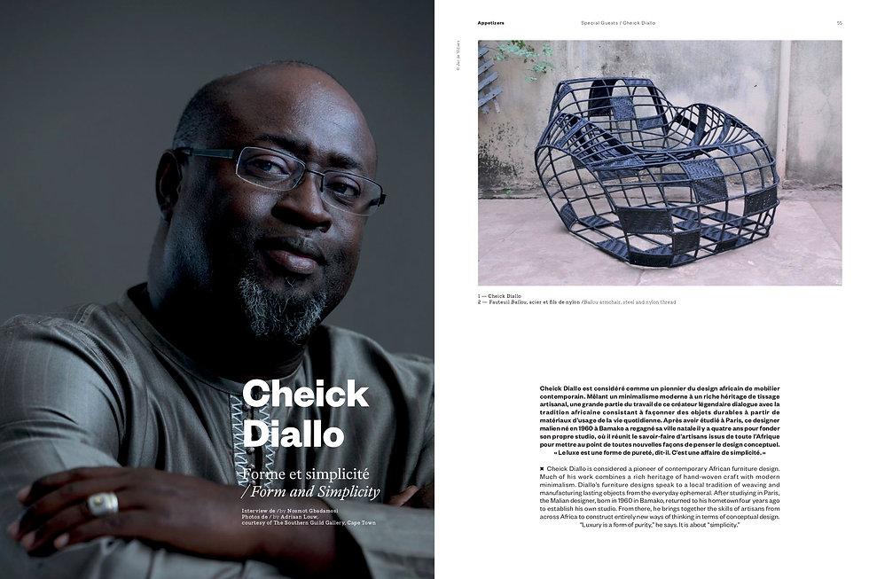 Press: Cheick Diallo TL mag