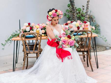 Frida Kahlo Styled Wedding Shoot