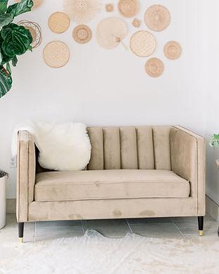 Caramel Sofa