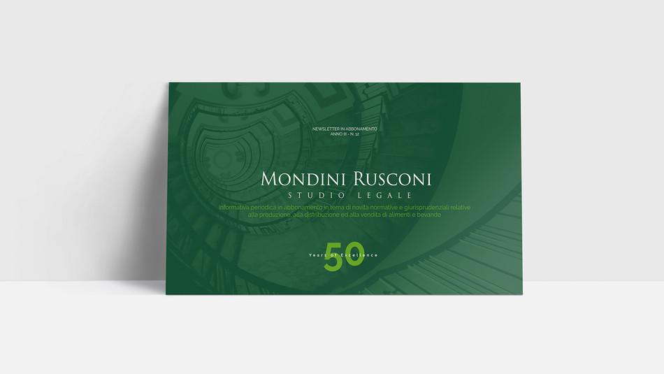 Mondini Rusconi Newsletter / Keynote Presentation