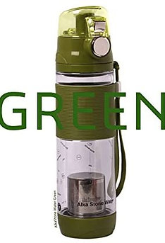 OPEN BOX - Costec DR.ALKASTONE Mineral Alkaline Water Ionizer Bottle