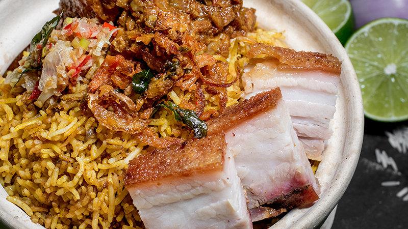 2 Meats Biryani Set