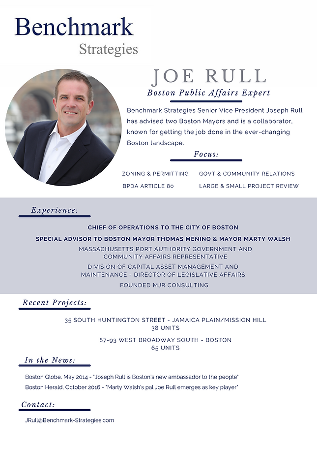Joe Rull - Boston Public Affairs Expert