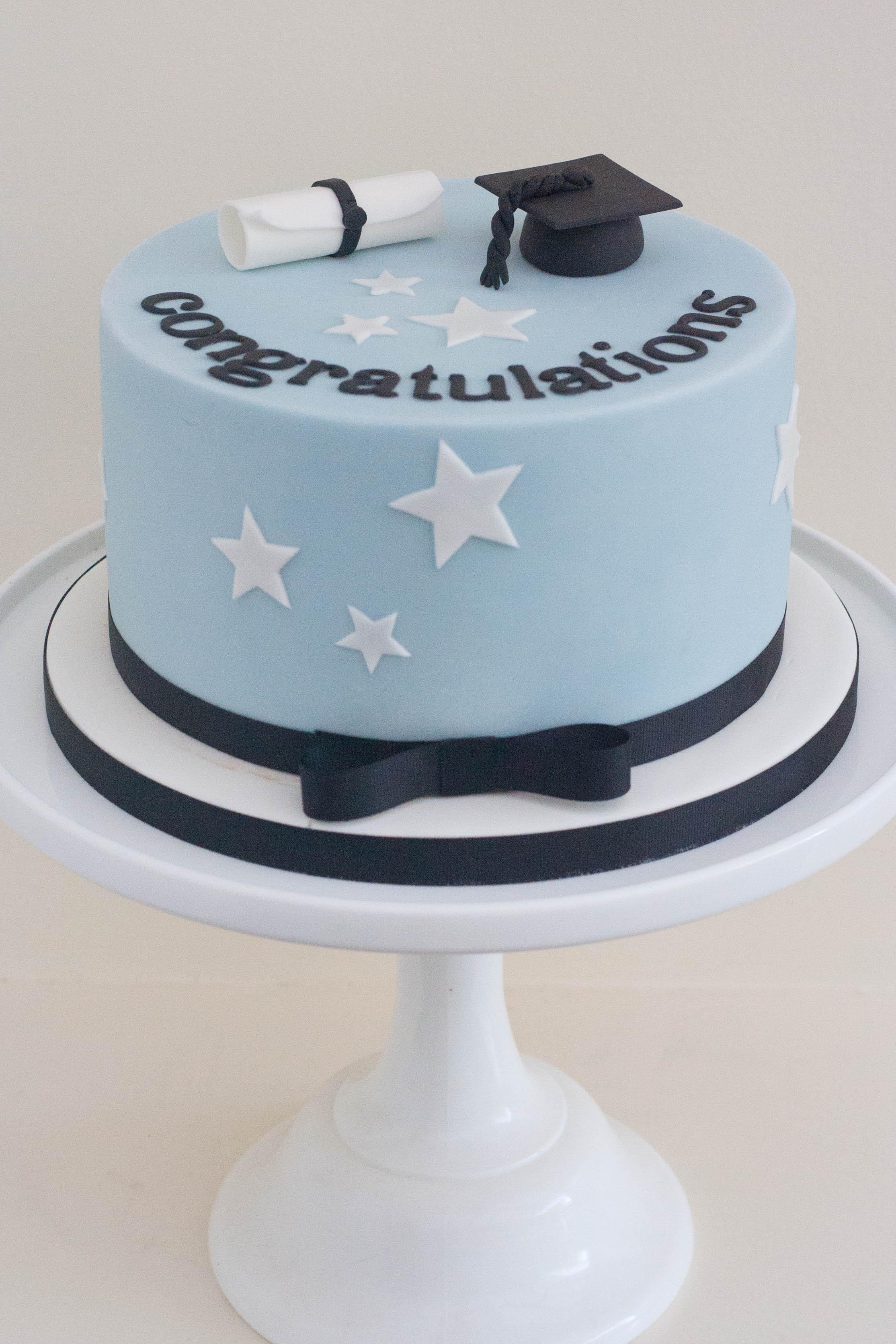 graduation cake vegan
