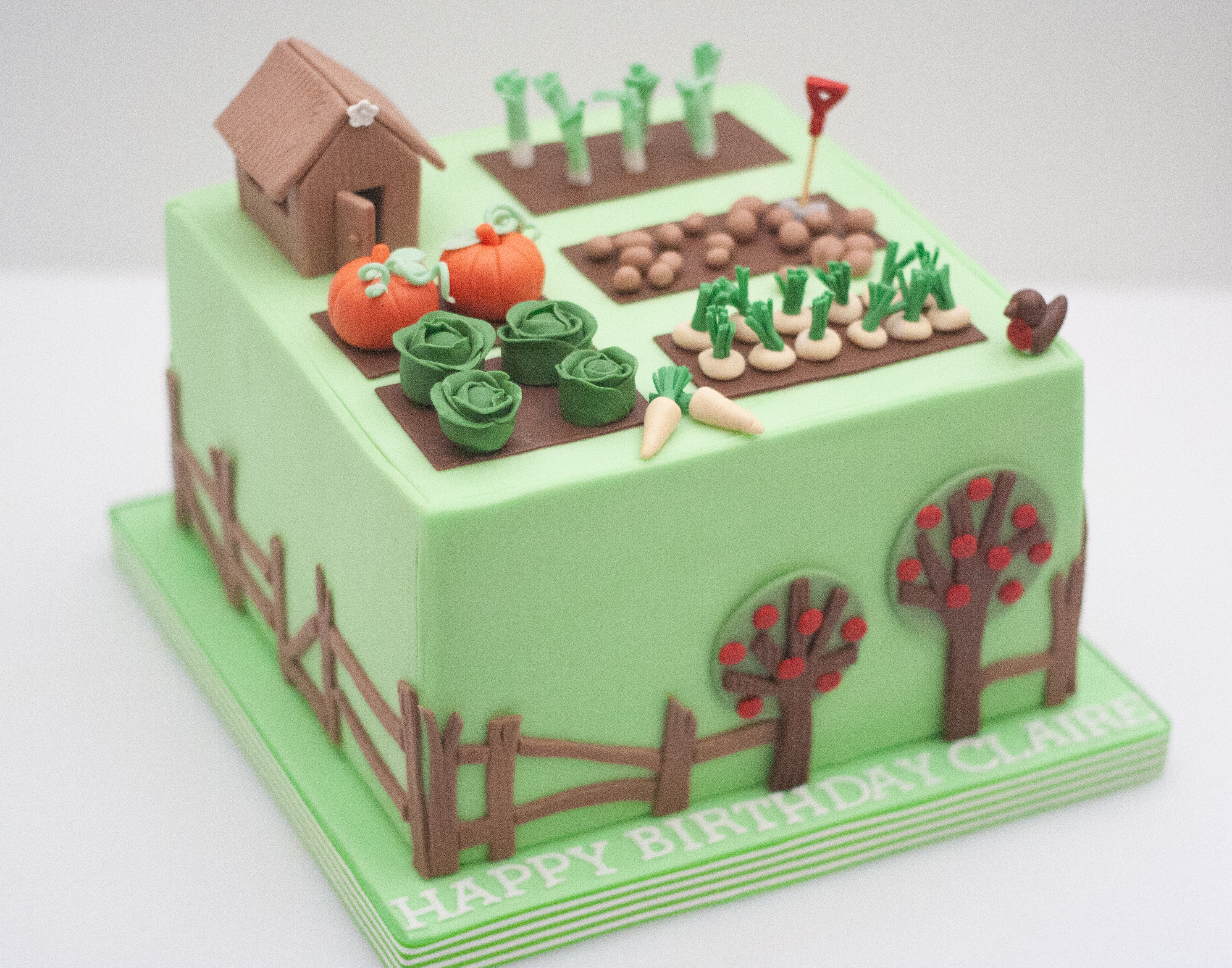 allotment cake shed