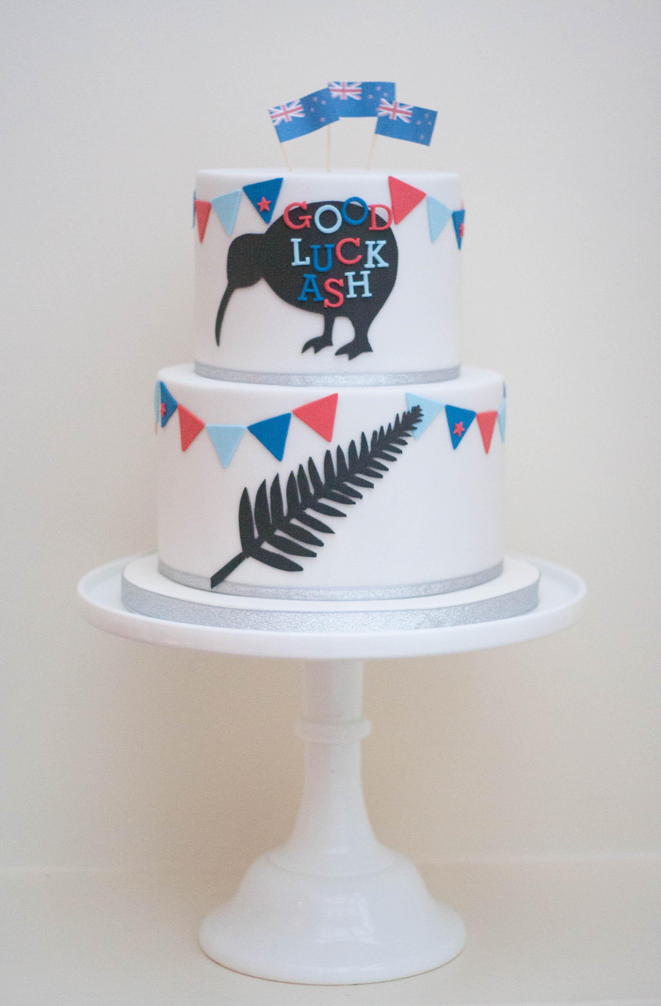 New Zealand cake vegan