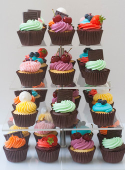 LARGE ORDERS ONLY rainbow cupcakes