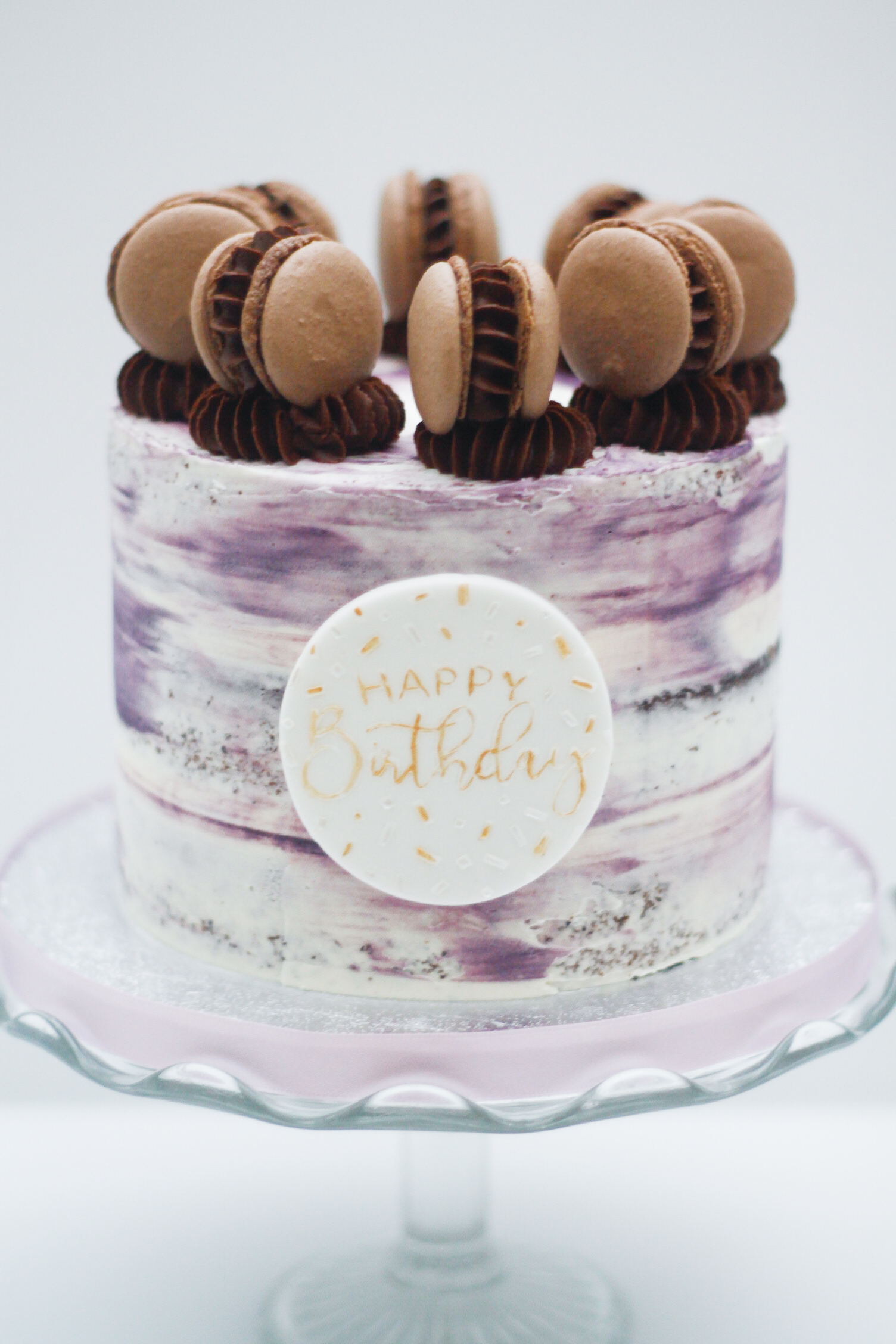 semi naked 6 inch with macarons-1