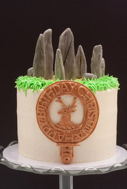 Outlander cake