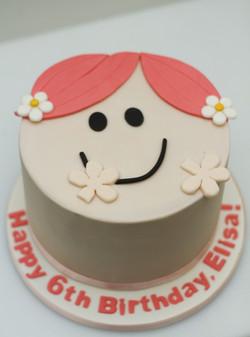 Little Miss hug cake