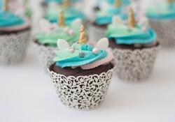 rainbow unicorn choc cupcakes vegan
