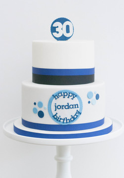 vegan 30th blue black