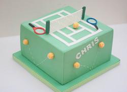 tennis cake vegan_