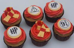 Harry Potter cupcakes vegan