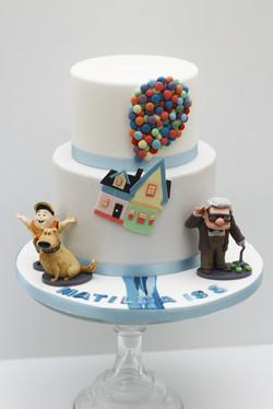 Disney Up cake-1