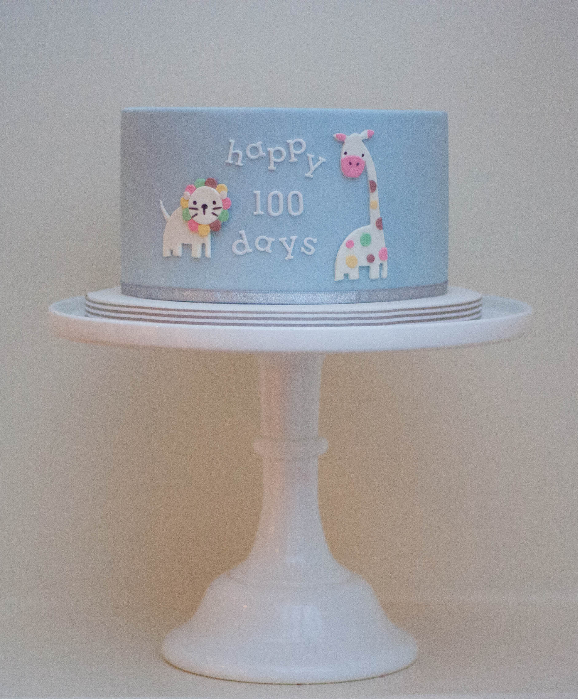 100 days vegan cake