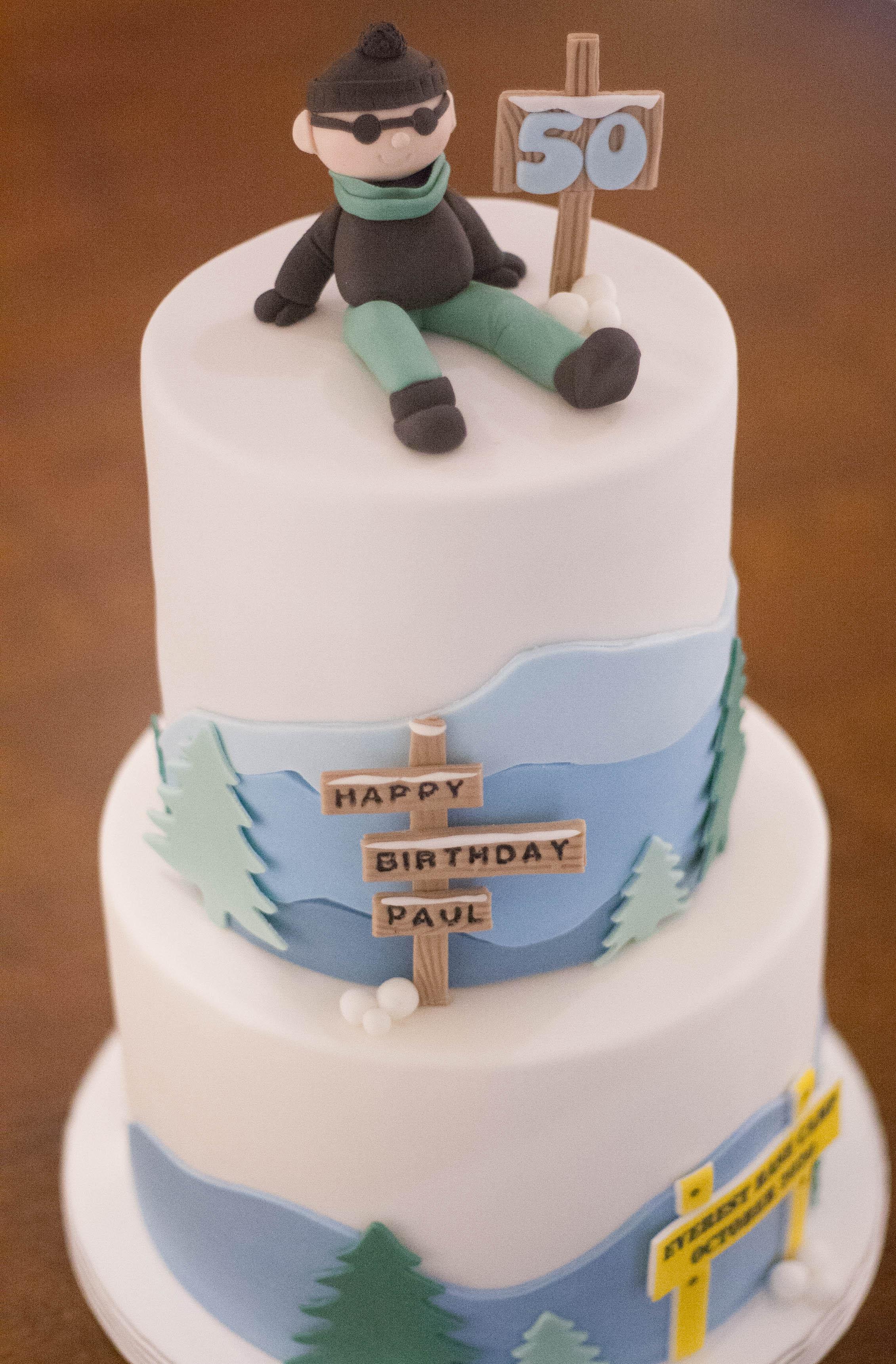 Everest vegan cake_