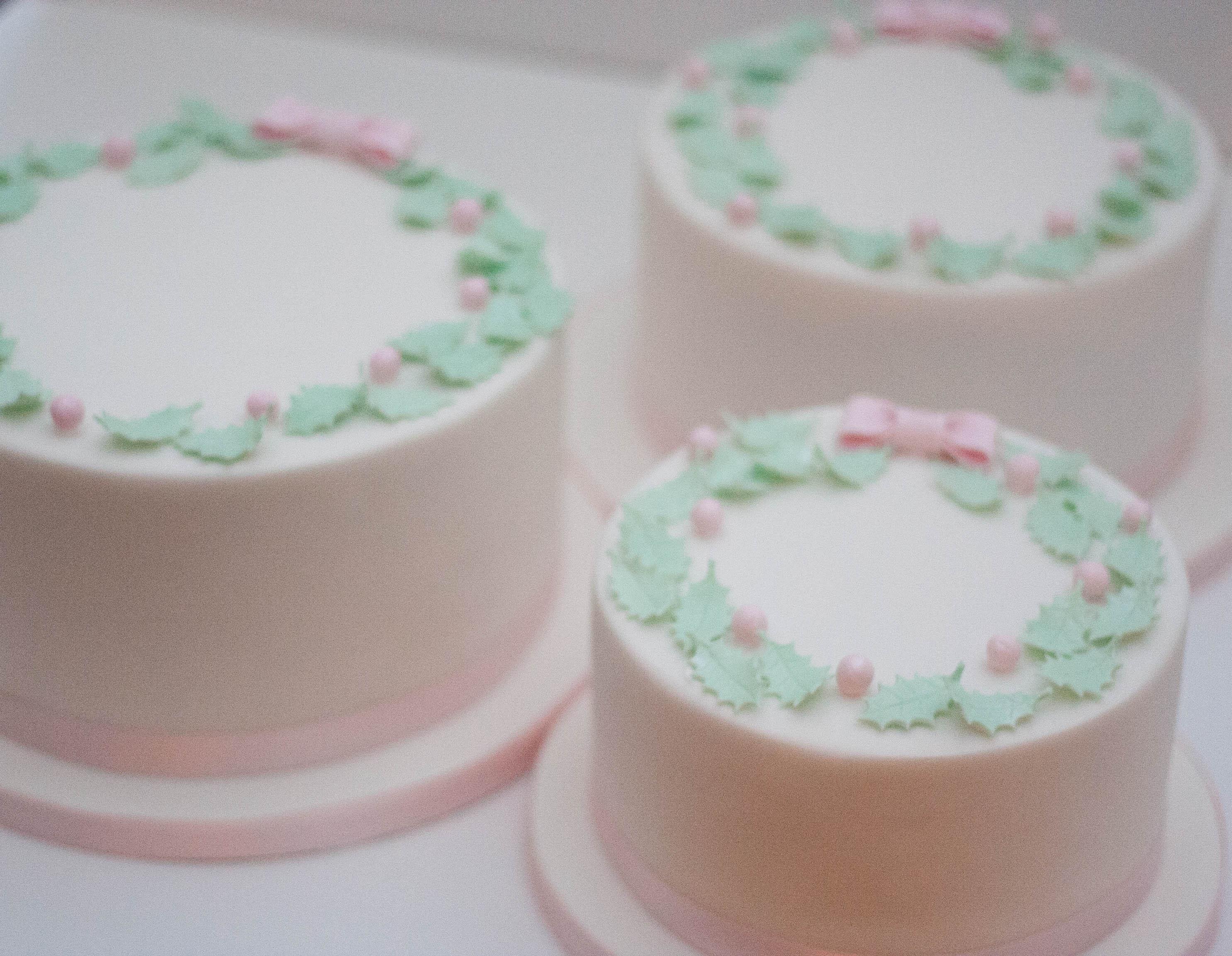 christmas cakes 2017