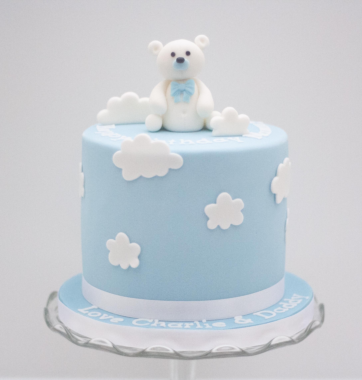 polar bear cake
