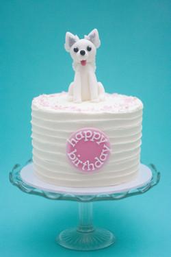 samoyed cake