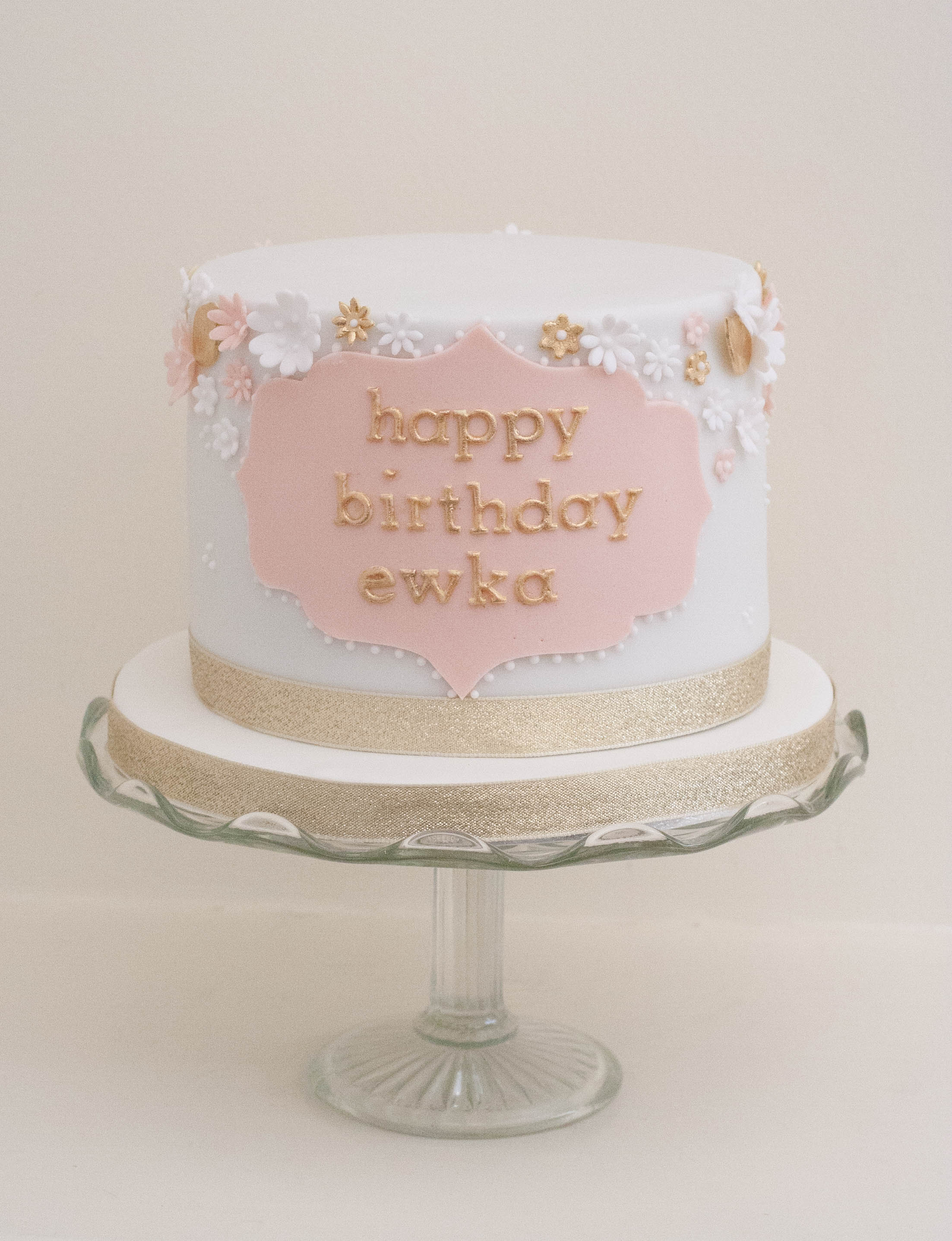 blush pink gold blossom vegan birthday c