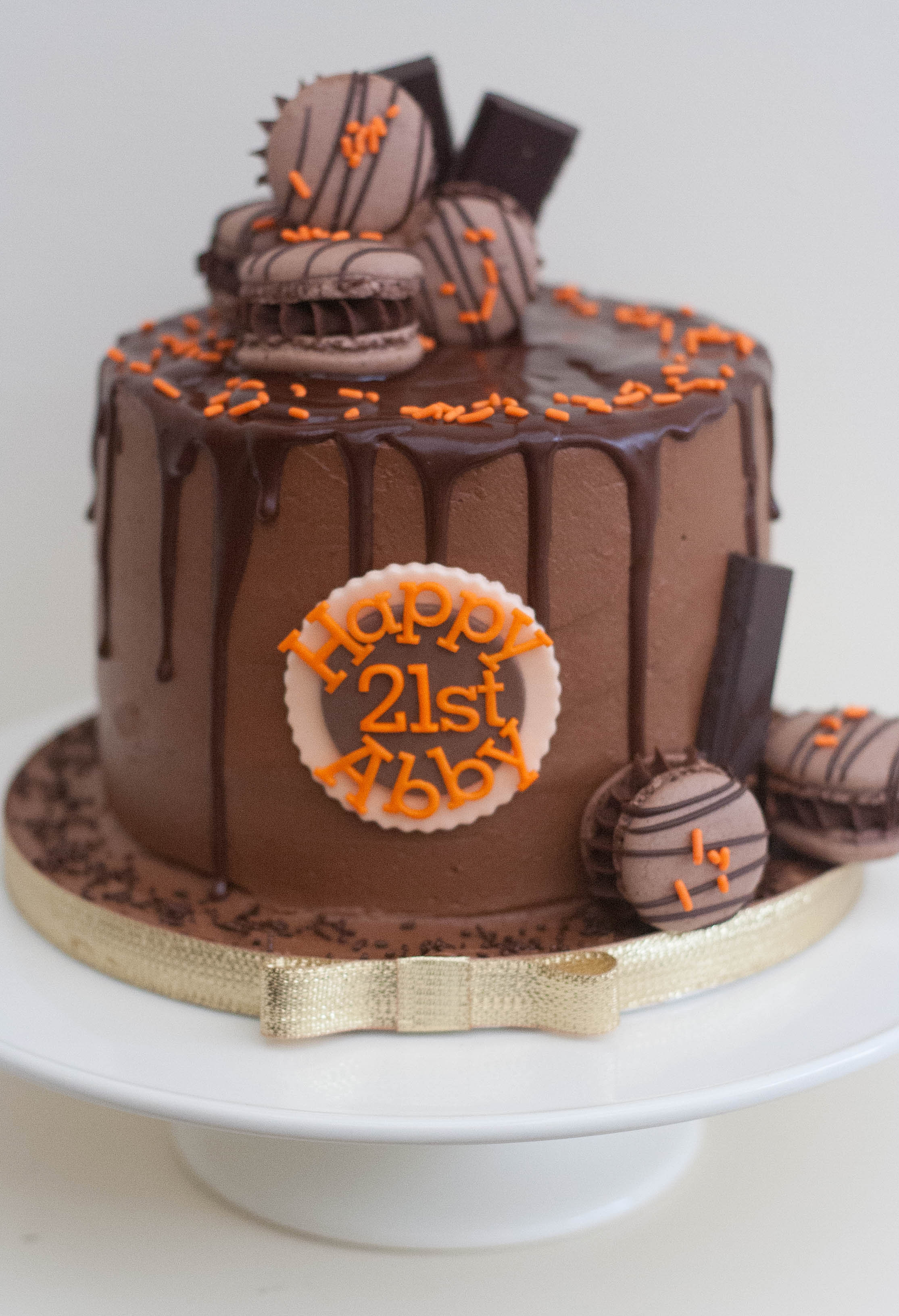 Chocolate Cake For Nd Birthday