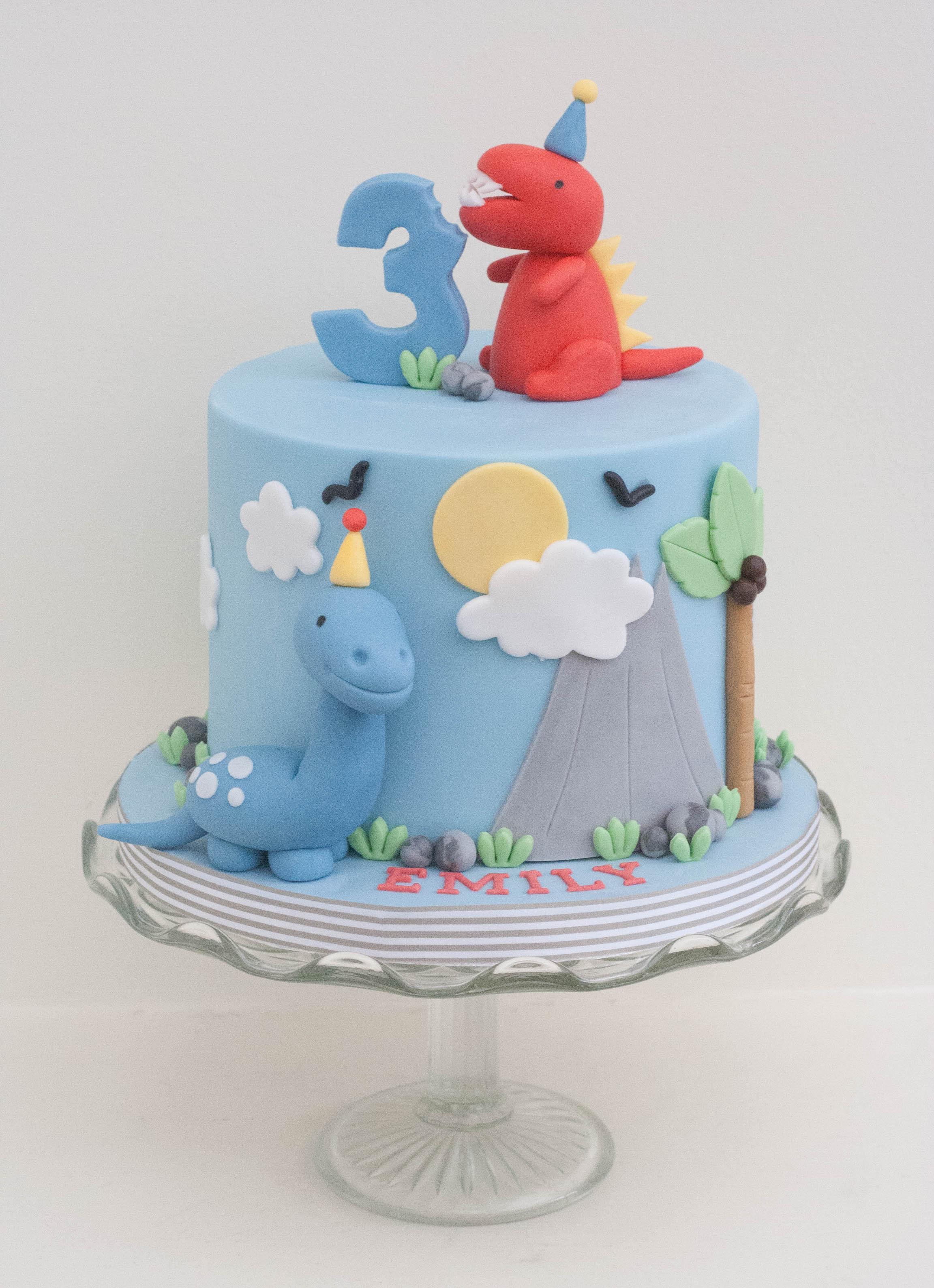 dinosaur gluten free vegan cake
