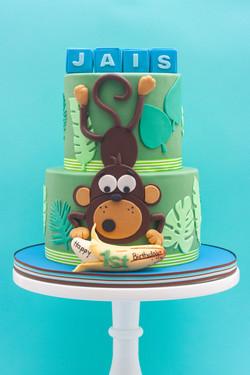 monkey banana cake_