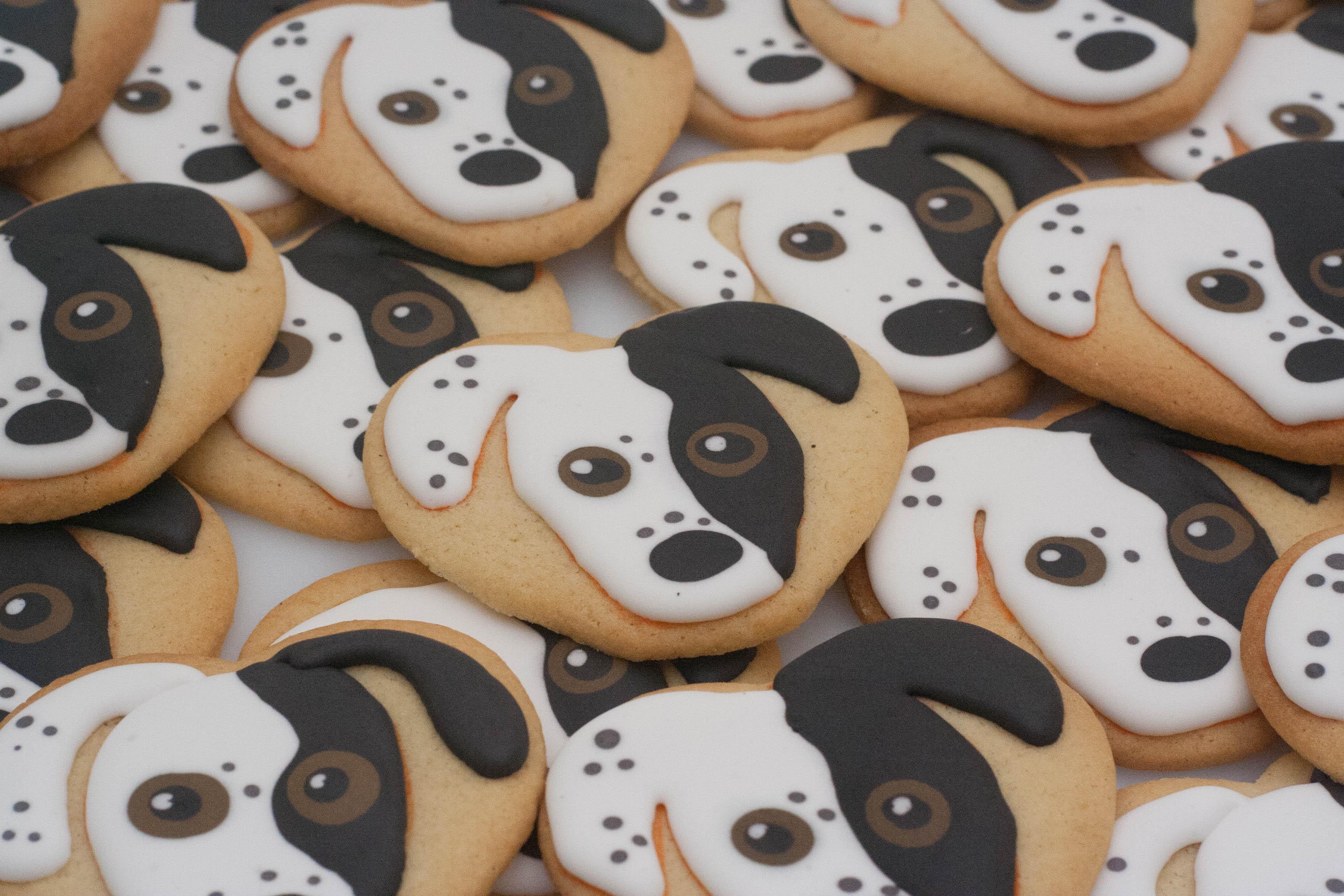 Mouse dog vegan cookies_