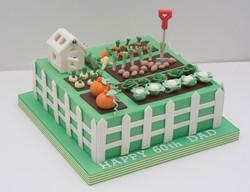 allotment cake vegan