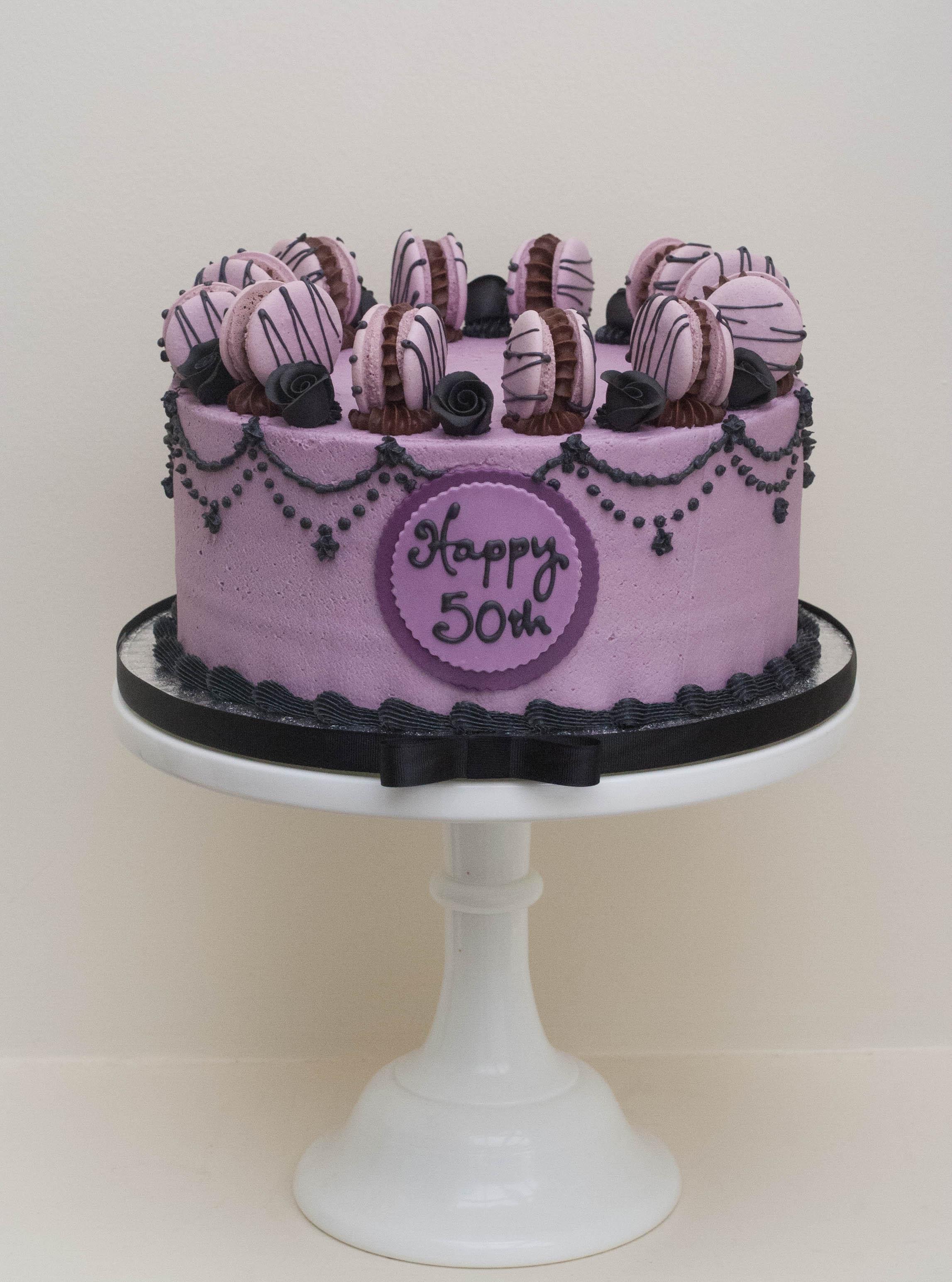 gothic vegan cake