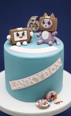 Lankybox cake
