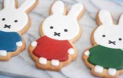Miffy cookies vegan