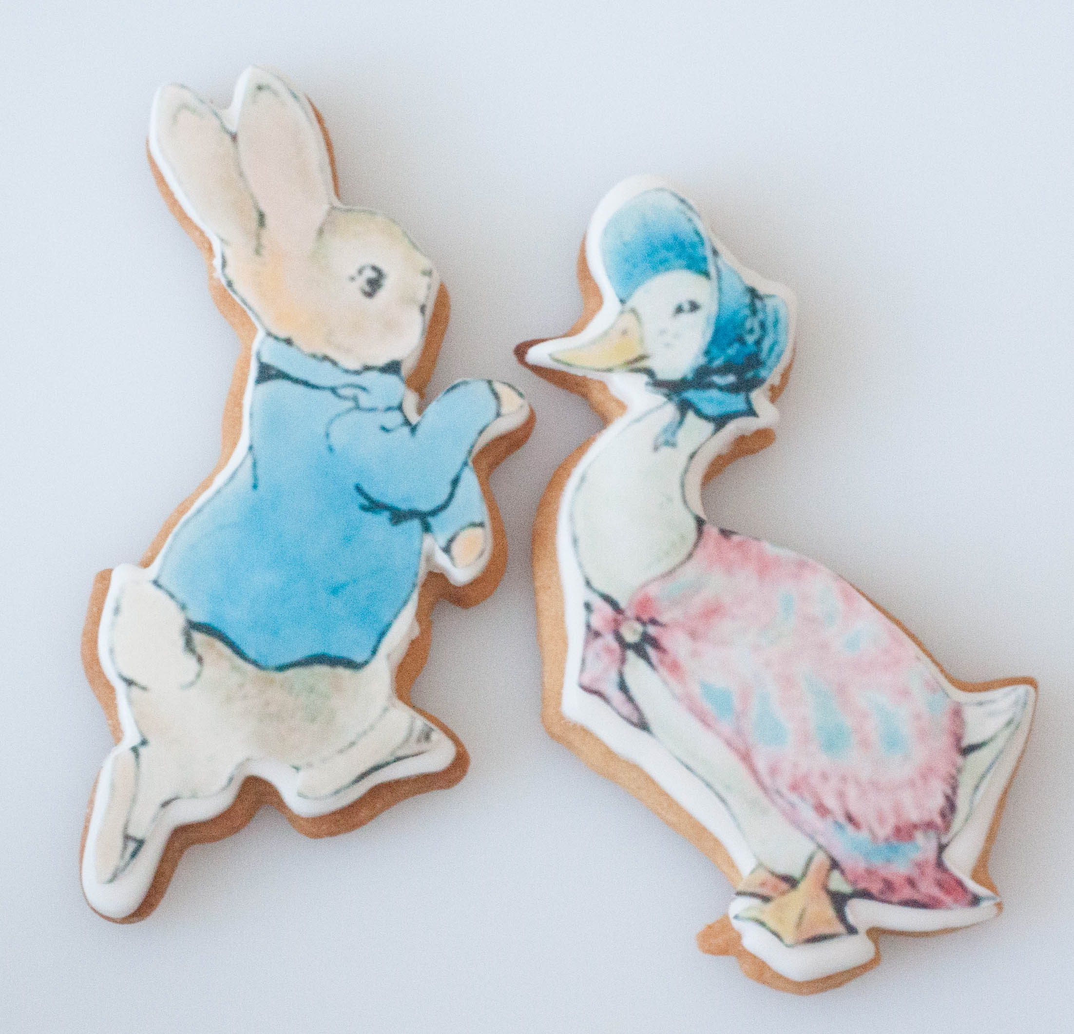 large Peter Rabbit Jemima cookie_