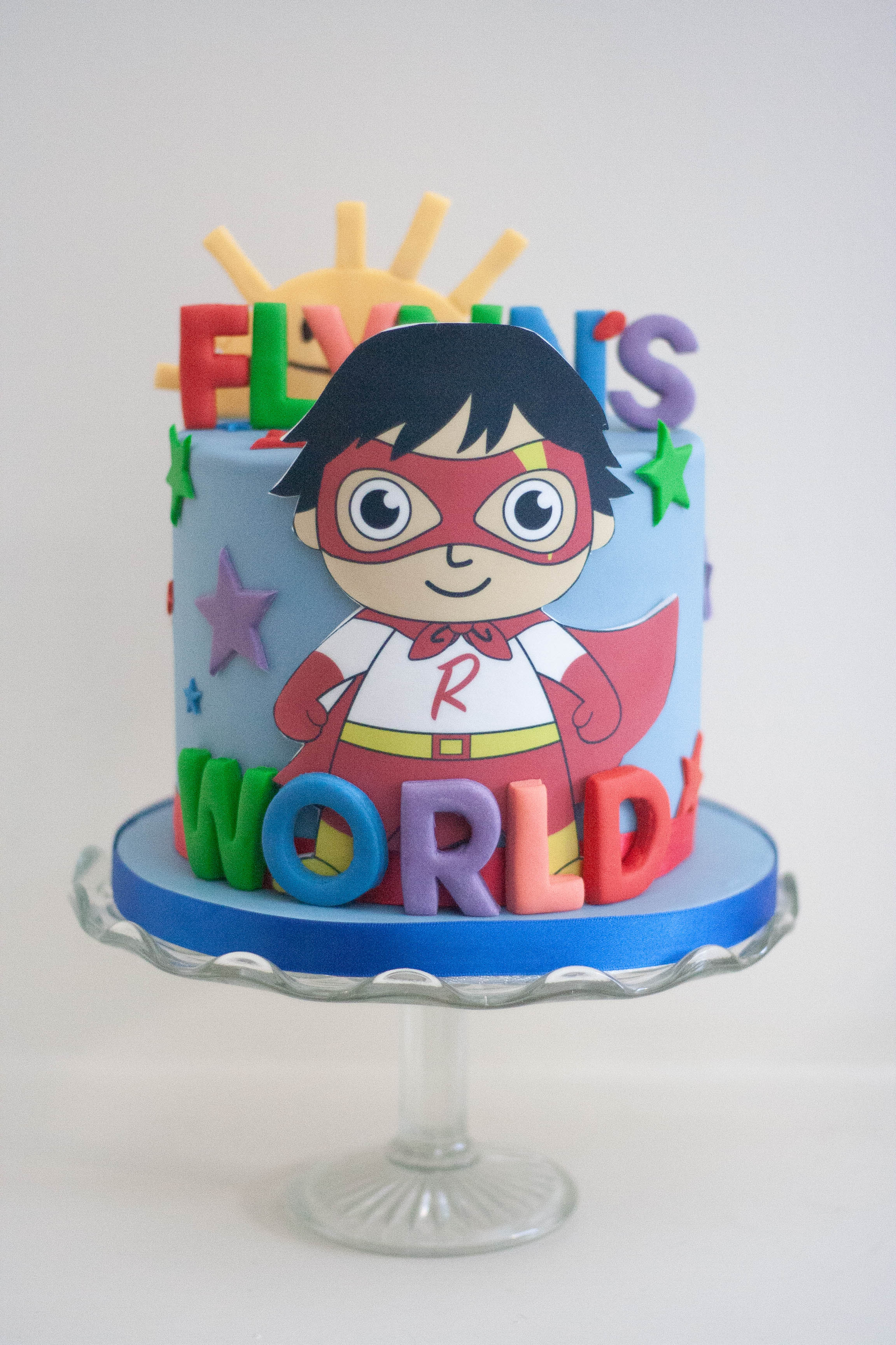 Ryan's World cake vegan