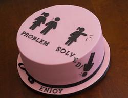 vegan gf divorce cake