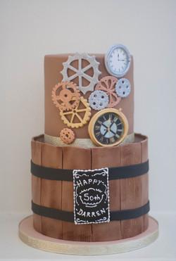 watch whisky vegan cake_