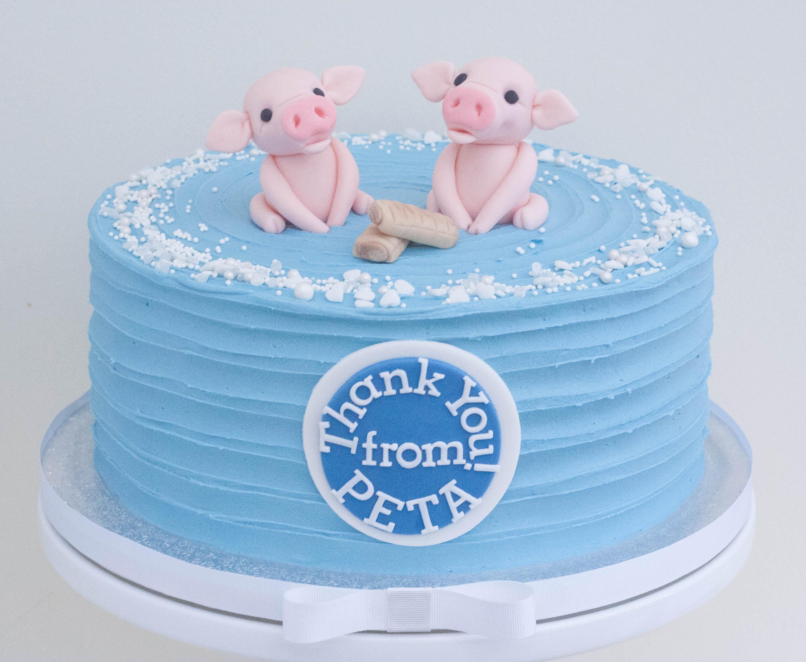 Greggs PETA vegan chocolate cake sugar p