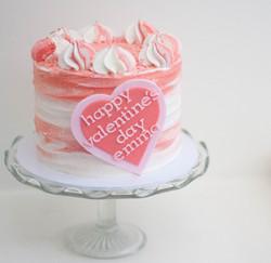 valentine vegan cake_